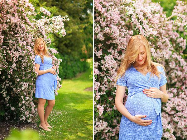 ایده عکس بارداری در فضای باز