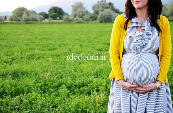 ایده عکاسی بارداری در فصل تابستان