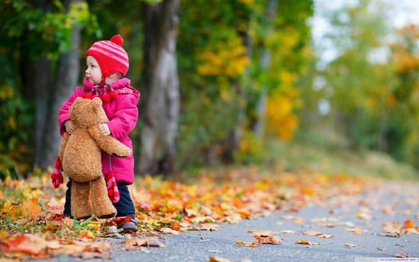 ایده عکاسی کودک در فضای باز