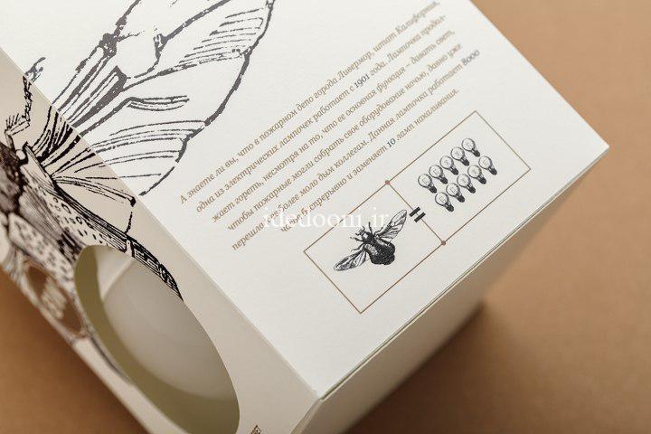 ایده بسته بندی لامپ